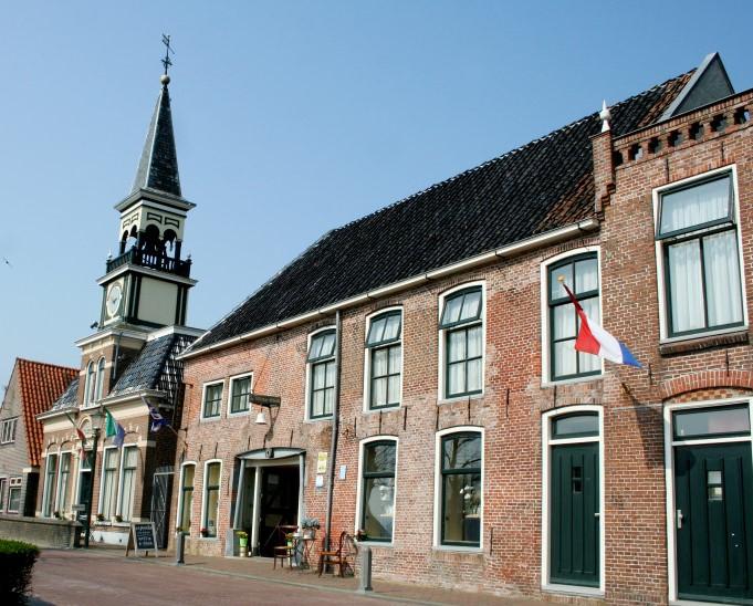 hotel de Witte Klok Oude Bildtzijl