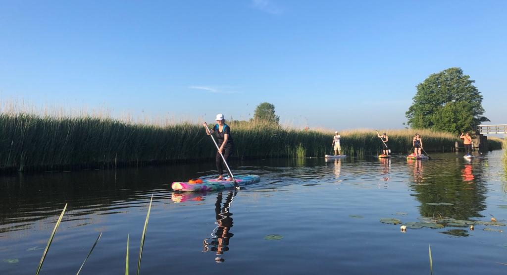 sup tour - sup Stiens - sup verhuur Friesland